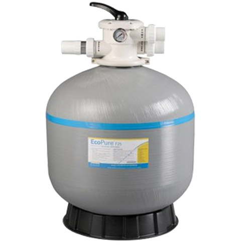 Davey ecopure f25 sand filter platinum pool and spa centre gold coast for Glass filter media for swimming pools
